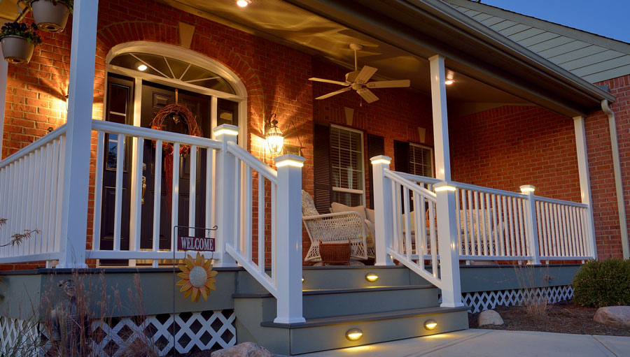 Porch and Deck Construction Example - Slideshow